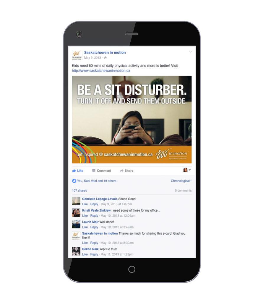 Sit Disturber Social Media